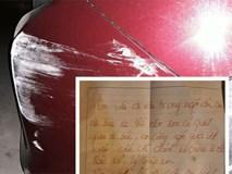 Tài xế bức xúc vì ô tô bị xước không rõ lý do, nhưng mảnh giấy để lại đã giải quyết tất cả