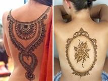Ngây ngất với loạt hình vẽ Henna tuyệt đẹp của các nàng