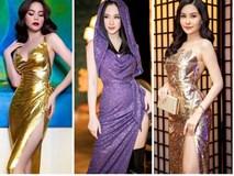 Hồ Ngọc Hà - Angela Phương Trinh đi đầu xu hướng váy ánh kim tỏa sáng trên thảm đỏ 2018