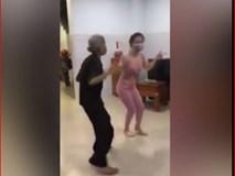 Cụ bà nhảy cực bốc lửa khiến gái trẻ phải ngả mũ