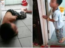 Sự thật gây sốc về hình ảnh những đứa trẻ bị trói chân tay, lột áo nằm dưới nền nhà