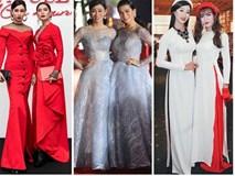 Những lần giả gái 'áp đảo' dàn mỹ nhân Việt trên thảm đỏ của cặp 'Sò Lụa' BB Trần - Hải Triều