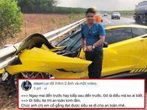 Siêu xe gặp tai nạn kinh hoàng: hành động của chủ xe khiến nhiều người phải bất ngờ