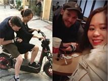 Phát hờn với chuyện tình ngọt ngào của cô gái Việt 'mét rưỡi' với chàng trai Úc cao gần...2m
