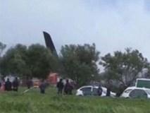 Hiện trường rơi máy bay quân sự Algeria làm 257 người chết