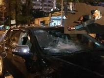 Tài xế ô tô kéo lê nạn nhân hàng trăm mét sau va chạm
