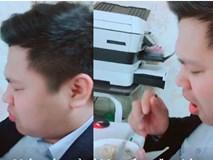 Anh chồng khóc nức nở vì bị vợ ép... ăn chè