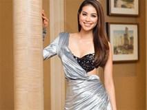 Hoa hậu Phạm Hương bị 'mất ngực' trên sóng truyền hình Indonesia