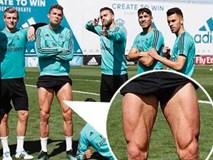 Ronaldo khoe bắp đùi cuồn cuộn cơ, sẵn sàng cho đại chiến với Bayern