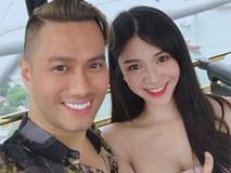 Diễn viên Việt Anh nhuộm tóc vàng trong loạt ảnh hậu trường quay