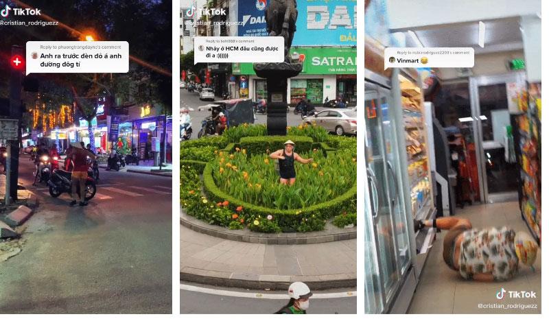Anh chàng ngoại quốc đăng loạt video chế giễu văn hóa Việt, phá hoại môi trường công cộng, làm ách tắc giao thông và lời giải thích đằng sau gây phẫn nộ vô cùng-4