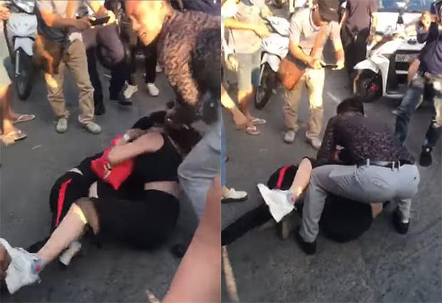 """Vụ đánh ghen có chồng thì phải biết giữ"""" trên phố Hà Nội: 3 nhân vật chính trong clip lên tiếng làm sáng tỏ-1"""