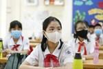 Diễn biến dịch Covid-19 phức tạp, Hà Nội yêu cầu tất cả học sinh đeo khẩu trang đi học