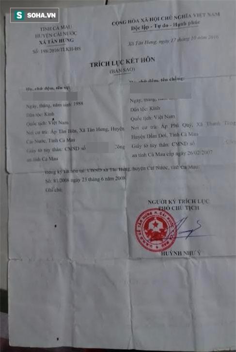 Cô giáo bị tố có 2 chồng, sống chung luân phiên ở Cà Mau: Xuất hiện tình tiết bất ngờ - Ảnh 1.