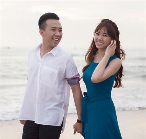 Gần 1 năm kết hôn, Hari Won tiết lộ cả tháng mới ăn với Trấn Thành ... marry