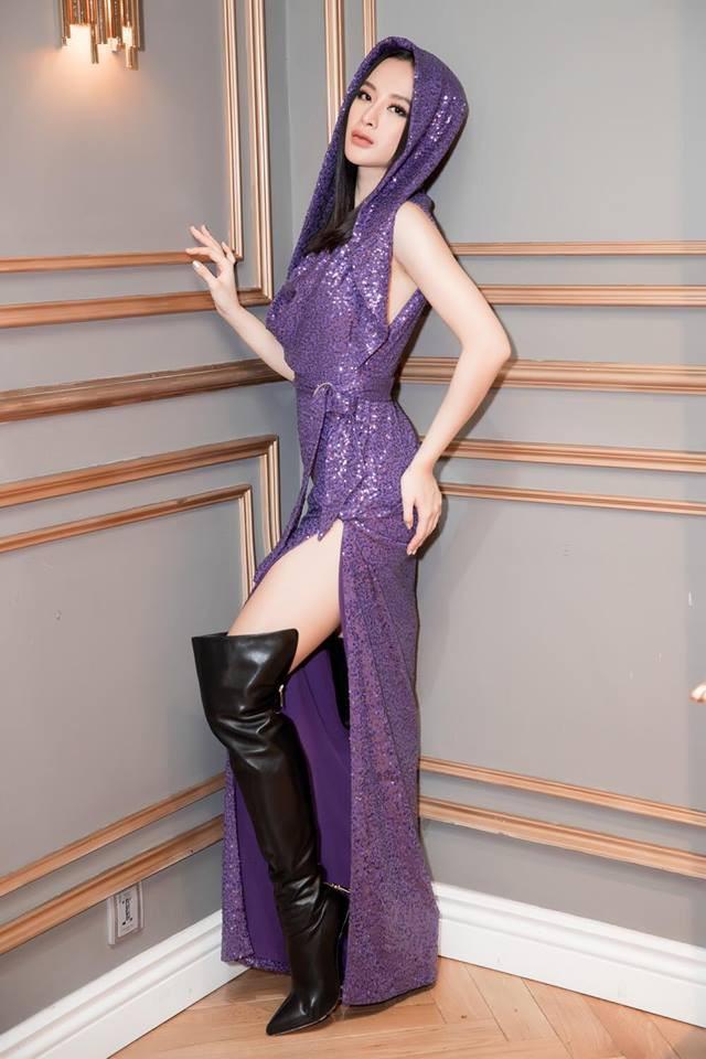 Đọ độ sexy của Hà Hồ, Angela Phương Trinh, Mai Ngô-5