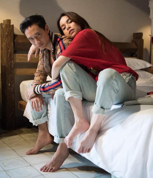 Kim Lý có phải là người giúp Hà Hồ mặc áo cô dâu lần cuối?-2