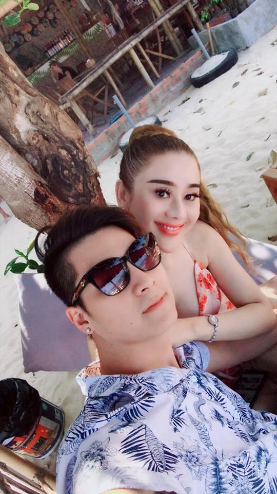 Lâm Khánh Chi khoe vòng 1 nóng rẫy khi đi trăng mật với chồng trẻ-13