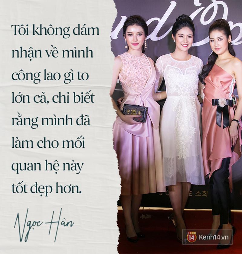 Hoa hậu Ngọc Hân: Nhiều người thắc mắc sao tôi chơi chung được với hai người ghét nhau-5