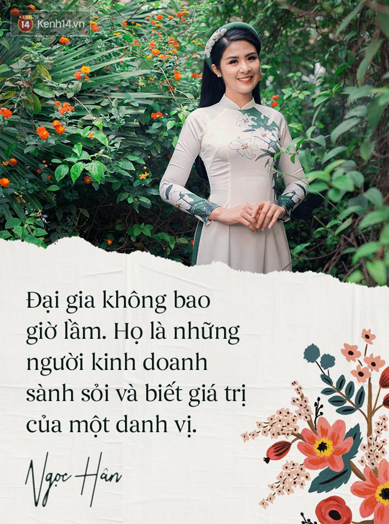 Hoa hậu Ngọc Hân: Nhiều người thắc mắc sao tôi chơi chung được với hai người ghét nhau-1