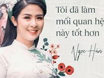 Hoa hậu Ngọc Hân: Nhiều người thắc mắc sao tôi chơi chung được với hai người ghét nhau