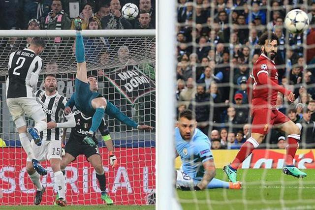 """Lập siêu phẩm xe đạp chổng ngược"""", C.Ronaldo vẫn ngậm ngùi xếp sau Salah-1"""