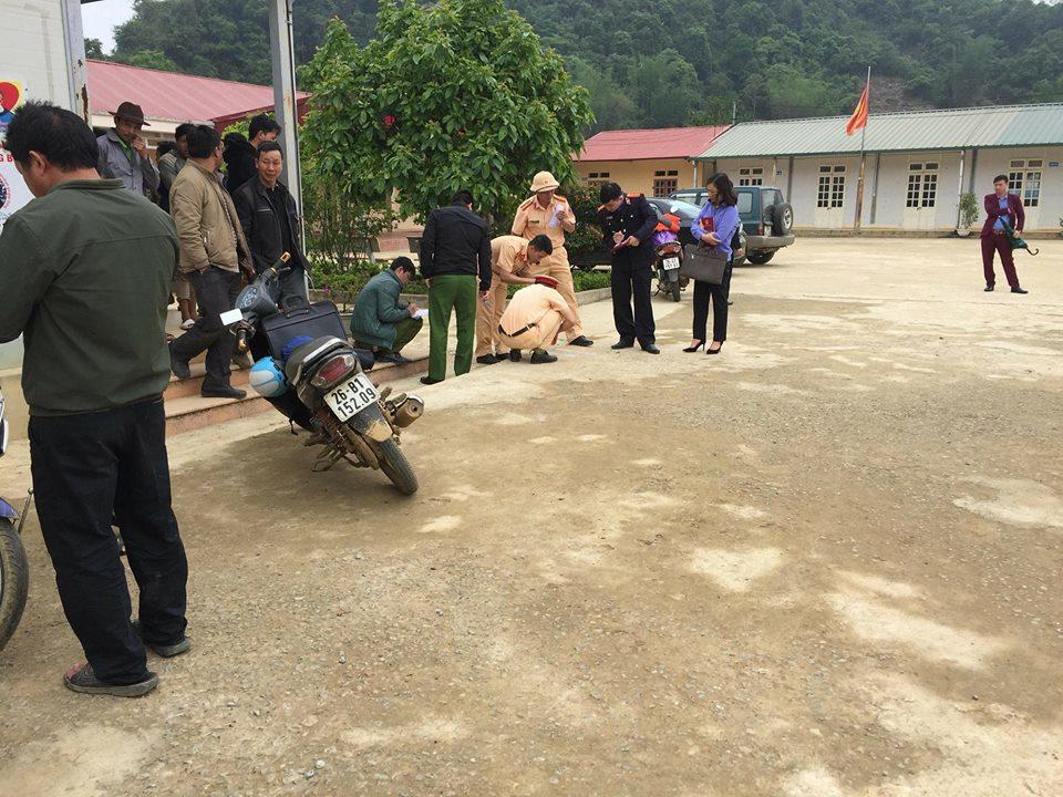 Sơn La: Giáo viên lùi xe trong sân trường, 1 học sinh tử vong-1