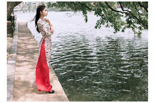 Ảnh đẹp xuất thần của cô gái Sài thành mơ ước diện áo dài ở Hà Nội-10