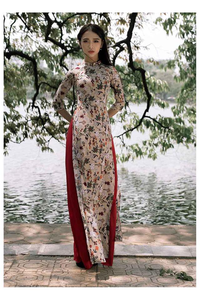 Ảnh đẹp xuất thần của cô gái Sài thành mơ ước diện áo dài ở Hà Nội-1