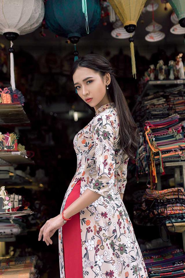 Ảnh đẹp xuất thần của cô gái Sài thành mơ ước diện áo dài ở Hà Nội-9
