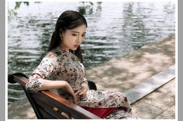Ảnh đẹp xuất thần của cô gái Sài thành mơ ước diện áo dài ở Hà Nội-8