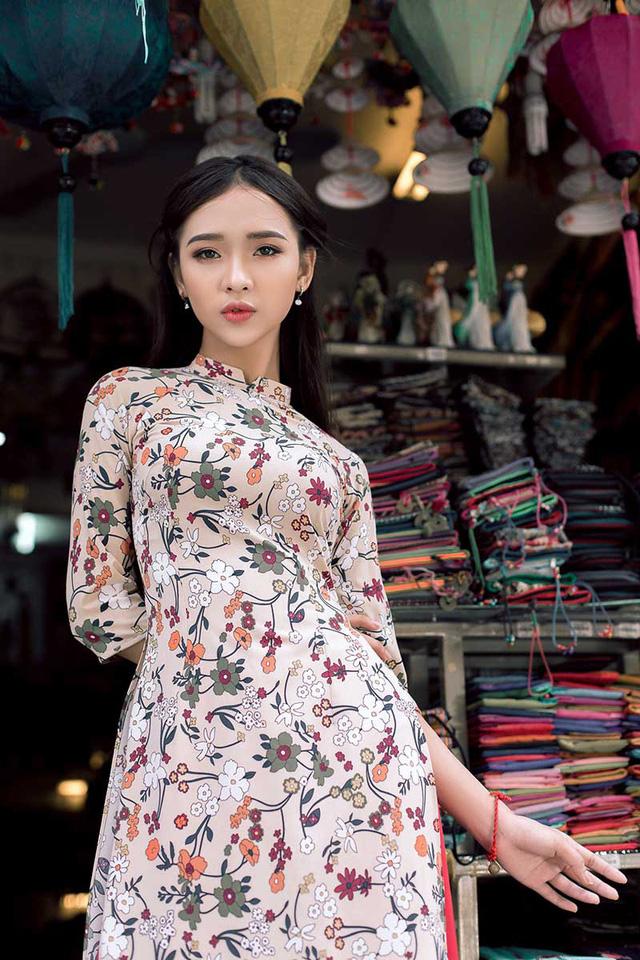 Ảnh đẹp xuất thần của cô gái Sài thành mơ ước diện áo dài ở Hà Nội-7