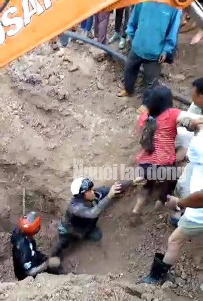 Kỳ tích cứu sống vợ chồng bị chôn sâu hơn 2 m trong gần 1 giờ-3