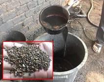 Xuất hiện nhiều tình tiết mới vụ nhuộm phế phẩm cà phê bằng pin