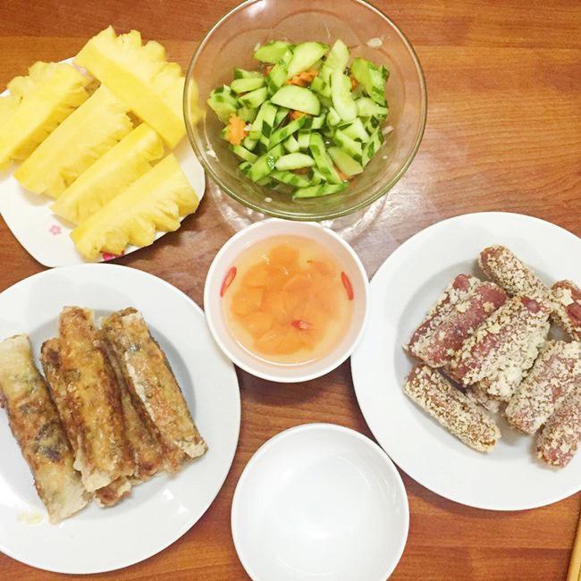 Vợ đảm ngày nào cũng vào bếp nấu nhiều bữa ăn ngon khiến chồng tăng 3kg sau cưới-6