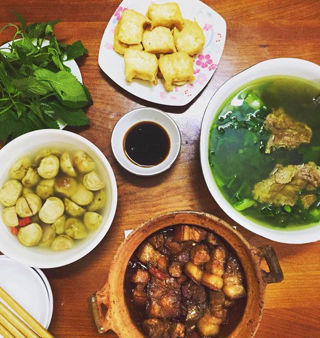 Vợ đảm ngày nào cũng vào bếp nấu nhiều bữa ăn ngon khiến chồng tăng 3kg sau cưới-4