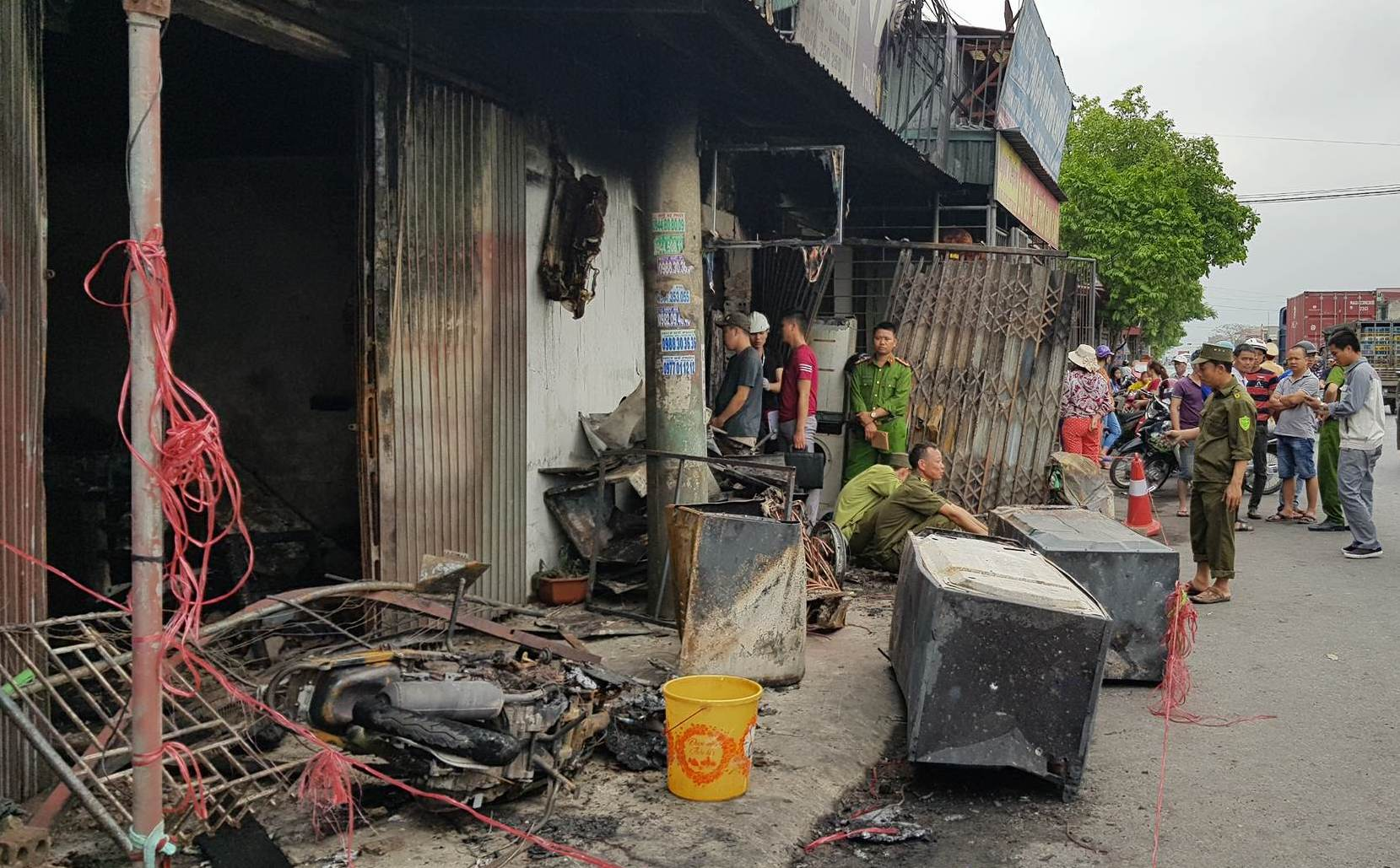3 mẹ con chết cháy ở Nam Định: Nguyên nhân ban đầu-2