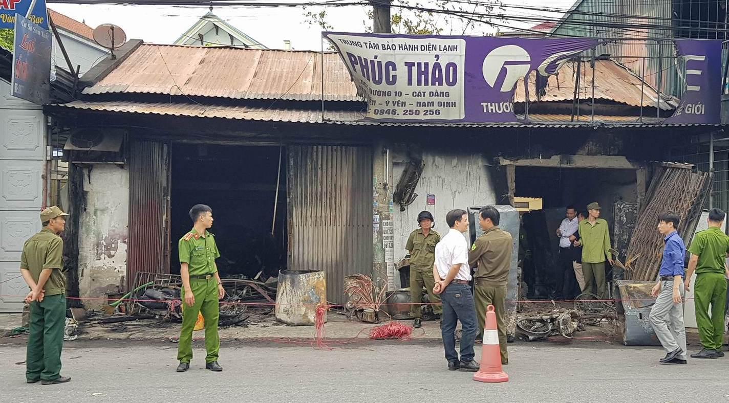 3 mẹ con chết cháy ở Nam Định: Nguyên nhân ban đầu-4