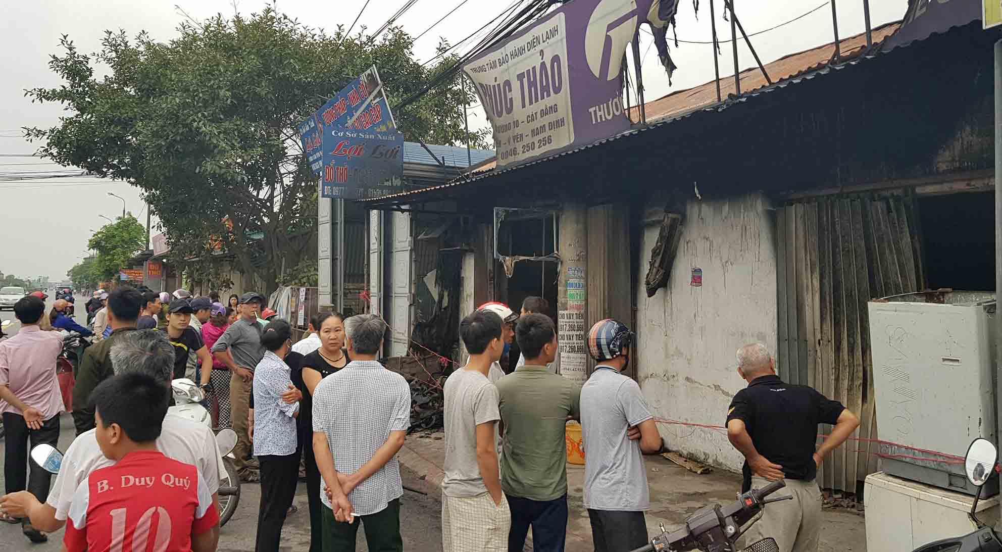 3 mẹ con chết cháy ở Nam Định: Nguyên nhân ban đầu-8