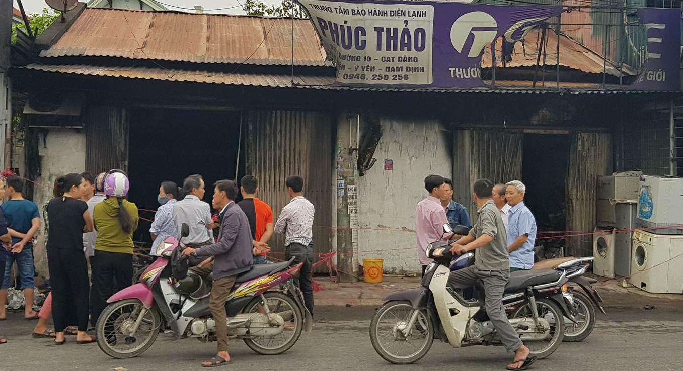 3 mẹ con chết cháy ở Nam Định: Nguyên nhân ban đầu-1