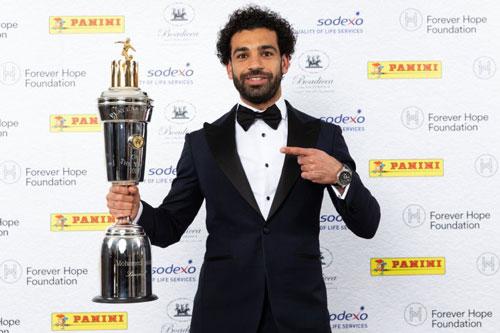 Salah nói gì khi giành giải Cầu thủ xuất sắc nhất Premier League?-1