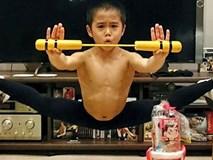 Cậu bé 8 tuổi luyện tập 5 tiếng mỗi ngày để giống Lý Tiểu Long