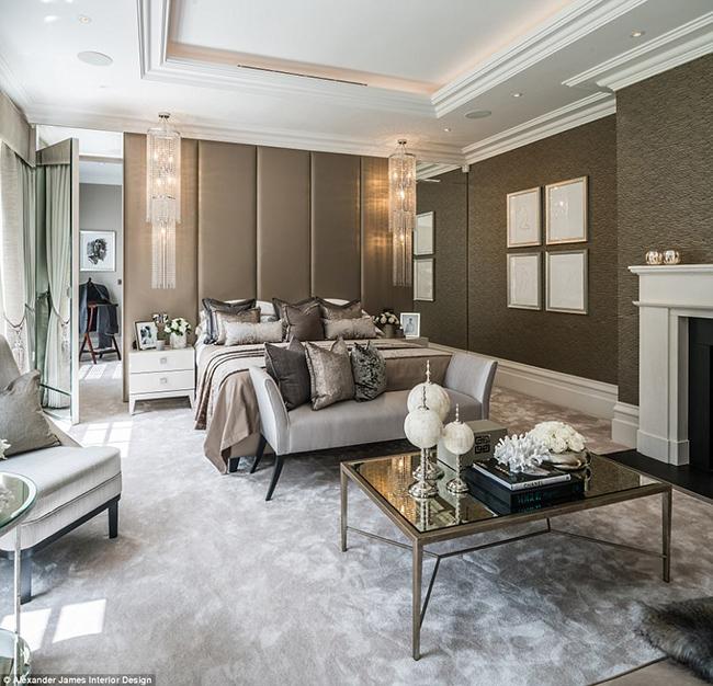 Lóa mắt với nội thất sang chảnh như hoàng gia trong căn biệt thự đắt nhất nhì nước Anh-16