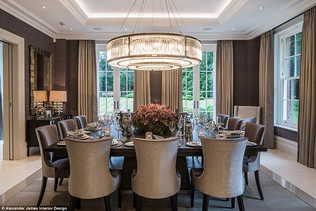 Lóa mắt với nội thất sang chảnh như hoàng gia trong căn biệt thự đắt nhất nhì nước Anh-6