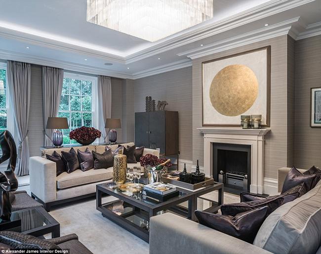 Lóa mắt với nội thất sang chảnh như hoàng gia trong căn biệt thự đắt nhất nhì nước Anh-9