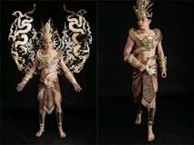 Đại diện Việt Nam mang trang phục dát vàng nặng 40kg đến cuộc thi Mister International
