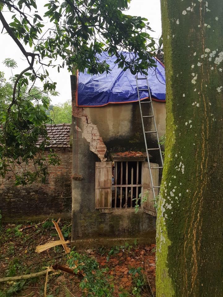 Hà Nội: Đang ở cữ, sản phụ bị sét đánh tử vong khi cùng chồng con ngồi trong nhà-1