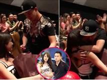 Lan nhanh clip Diệp Lâm Anh khóc 'ngon ơ' khi được bạn trai cầu hôn trong rạp chiếu phim