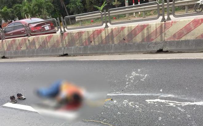 Nam công nhân kẻ vạch sơn đường bị ô tô đâm tử vong-1