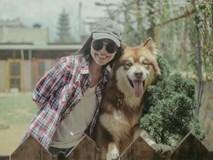 Hiền Thục hào hứng chơi đùa ở trang trại chó tại Đà Lạt